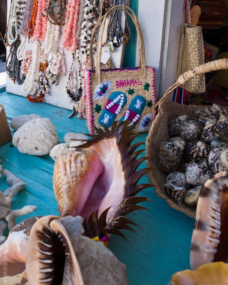 Conch Shells and Straw Market