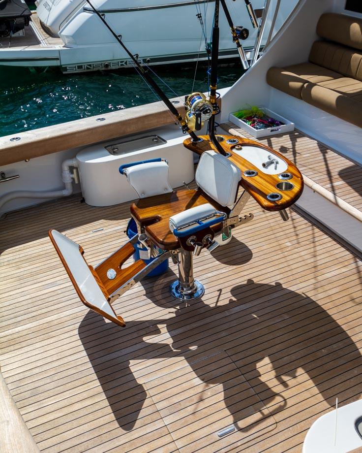 Fisherman's Luxury Boat Chair