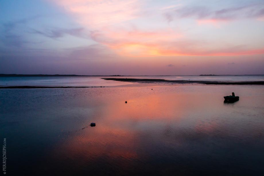Twilight on Dunmore Bay