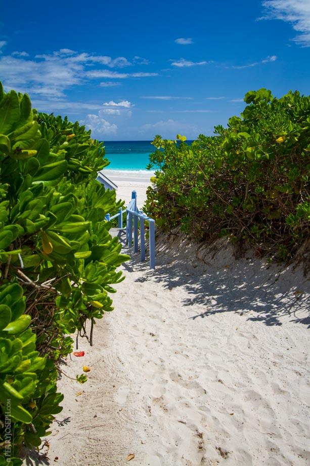 Pink Sands Resort Beach Path