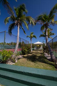 Tennis Courts at Pink Sands