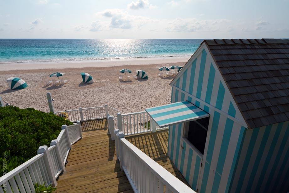 Stairway to Pink Beach Heaven