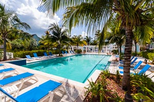 Poolside at Valentines Resort