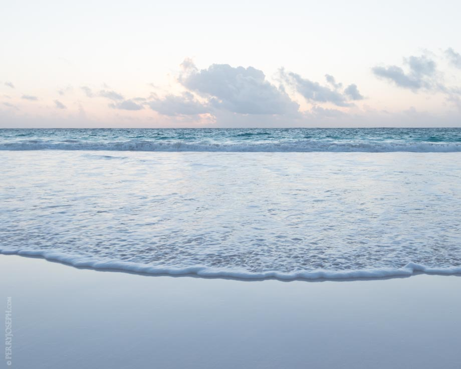 Silver Blue Sunrise