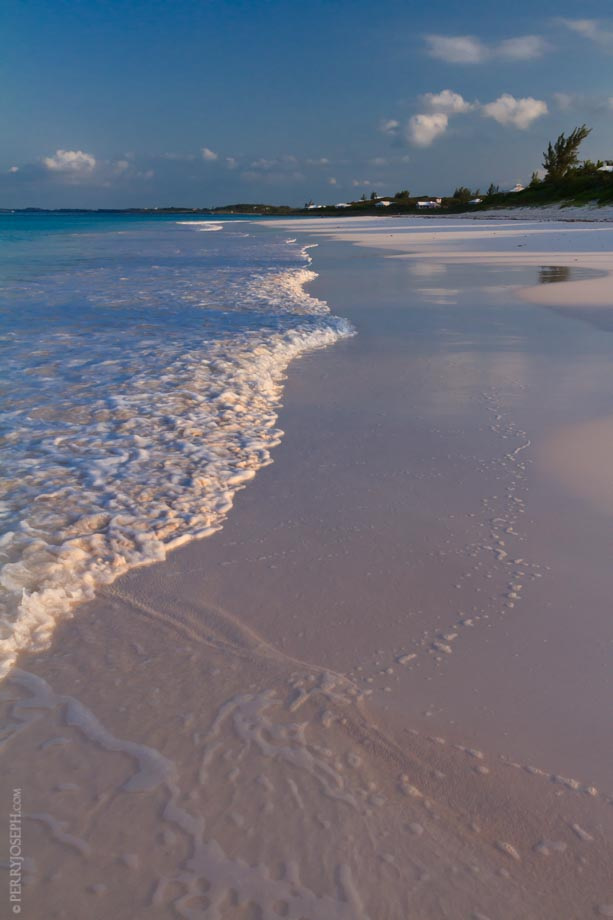 Hard Packed Pink Sand Beach